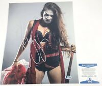 TNA Impact Wrestling Su Yung Autographed 11x14 Photo Signed WWE NXT Beckett COA