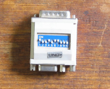 Lindy Monitor DB15M to HD15F SVGA switched adapter Apple Macintosh