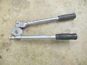 """Imperial Eastman 3/8"""" tube bender Model FHA3-8 steel copper"""