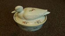 Bonne Cuisine Bird Flower Design Covered Casserole Dish !!!!