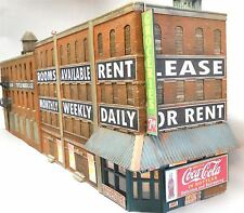 DOWNTOWN DECO HO SCALE 1:87 FRONT STREET FLAT | BN | 1055
