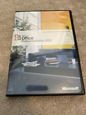 Microsoft  Office Professional Edition 2003 (Retail) (1 User) - Full Version for