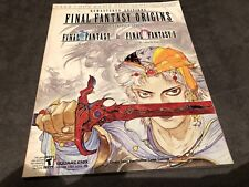 Final Fantasy Origins Strategy Guide PlayStation PS1 good condition