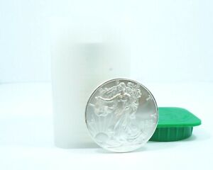 2009 - 1 oz American Silver Eagle $1 Roll of 20 (Came from a Monster Box) Lot 9