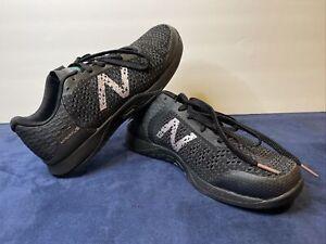 New Balance Minimus Prevail Women's Shoes Cross Train Size 7.5 Black Metallic