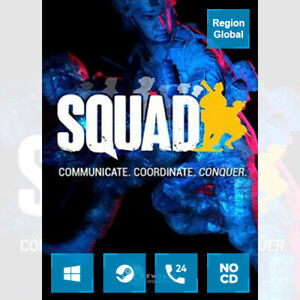 Squad for PC Game Steam Key Region Free