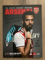 Arsenal v West Ham United Official Matchday Programme 7 March 2020