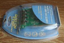 Dynex 4 Port High-Speed USB 2.0 PCI CARD Host Adapter Desktop DX-UC104 480Mbps