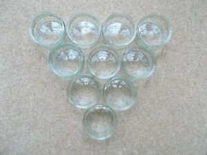 10 Empty GU Glass Ramekins Pots - Crafts, Candles, Parties, Weddings, Snacks