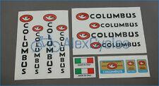 Bicycle Columbus Tubi GARANTITI Rinforzati Frame & Fork Decals Stickers Kit Set