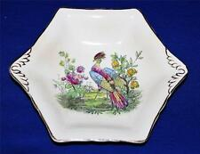Royal Winton - Grimwades - Bird of Paradise - England - 6 Sided Bowl Candy Dish