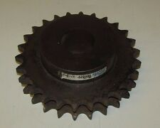 "MARTIN D80B26 2 ROW 26 TEETH PER ROW 2-1/4"" BORE 8-13/16"" O.D. 1"" PITCH SPROCKET"