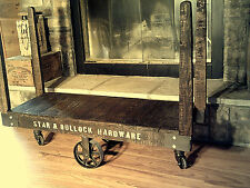 RUSTIC FACTORY CART