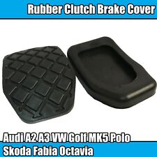 2x BRAKE CLUTCH PEDAL RUBBER PAD AUDI A2 A3 VW GOLF MK5 POLO SKODA FABIA OCTAVIA