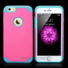 Tough iPhone 6 Case- Armorbox Dural 2 in 1 Rugged Hybrid Hard/Soft Armor Cover