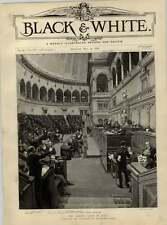 1892 Cabinet CRISI IN ITALIA CAMERA DEI DEPUTATI A ROMA