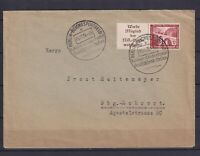 """GERMANY 1936, Football Special canc. """"Football Germany-Italy"""", Cover from Berlin"""