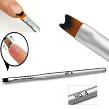 Pro Nail Art Painting Drawing Brush Pen Acrylic for UV Gel French Manicure