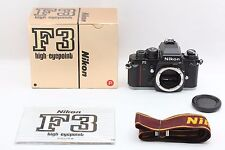"""TOPMINT in BOX"" Nikon F3P HP PRESS SLR 35mm Film Camera Body From Japan #1537"