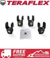 """TeraFlex 2-2.5"""" Lift Shock Extension Bracket Kit for 2018 Jeep Wrangler JL"""