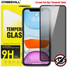 For iPhone 12 mini 11 Pro X XS Max XR Privacy Tempered Glass Screen Protector