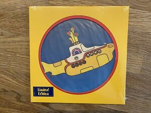 "THE BEATLES Yellow Submarine 7""Picture Disc STILL SEALED"