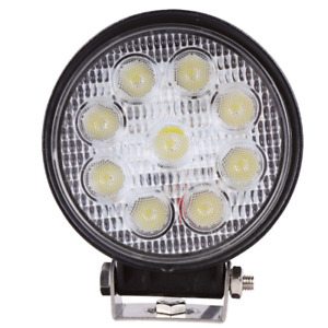 2X 4Inch 27W Spot Round LED Work Light Offroad Fog Driving DRL SUV ATV Truck 4WD