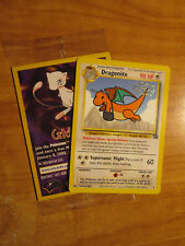 "SEALED ""Catch Mew"" Pokemon DRAGONITE Card BLACK STAR PROMO Set #5 Movie WB Stamp"