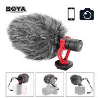 BOYA BY-MM1 Cardiod Shotgun Microphone MIC Video for Smartphone Camera B9Z3