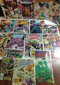 Marvel Comic 15 Copper Age Key Issues X-Factor New Mutants Guardians of Galaxy