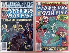 Power Man & Iron Fist #66 & 78 *2nd & 3rd ap Sabertooth* Luke Cage X-Men Netflix