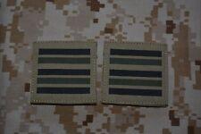 G011 grades militaires basse visibilité galons Armée Française insignes Airsoft