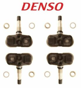 Set of 4 TPMS Tire Pressure Monitoring Sensors DENSO for Lexus Toyota Brand New