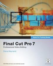 Apple Pro Training Series: Final Cut Pro 7 by Diana Weynand-(NEW)