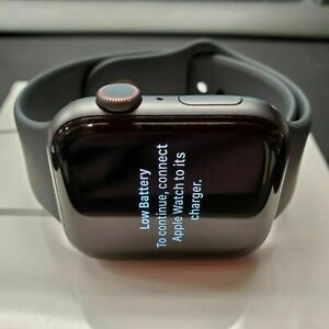 Apple Watch Series 5 Nike+GPS + Cellular 44mm Gray Case WITH Sport Band  B GRADE