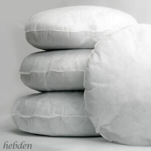 Hollowfibre Cushion Round Pads 22 Inch / 55 cm Inserts Fillers Scatters Qty 2
