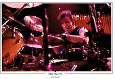 Tico TORRES SIGNED Autograph 12x8 Photo AFTAL COA Bon Jovi Drummer Legend