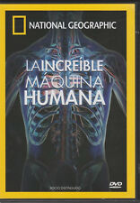 National Geographic: La Incredible Maquina Humana (DVD)- socio distinguido promo