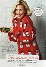 """Knitting Pattern for Ladies Christmas Sweater. To Fit 30-40"""" Bust"""
