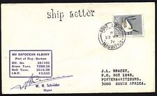 MAURITIUS 1977 ship cover st/line SHIP LETTER..............................93463