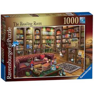 Ravensburger 1000 Piece Puzzle The Reading Room Jigsaw 70x50cm Ages 12+
