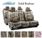 Coverking Custom Seat Covers Neosupreme Front and Rear Row Row - Solid Realtree
