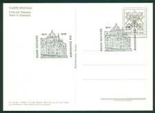 "Vatican City 1978 FDC Set of 6 Postcards ""Fountains II "" Series"