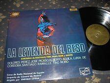 LA LEYENDA DEL BESO  ZARZUELA DE SOUTULLO-VERT PASO SPANISH ZAFURO Z-128 STEREO