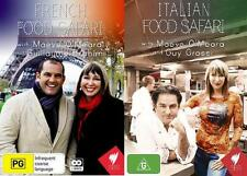 Italian Food Safari and French Food Safari - Region All