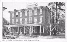 c1920s Girls Dormitory, Lebanon Valley College, Annville, Pennsylvania Postcard