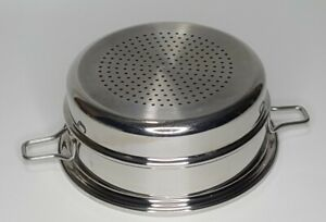 Saladmaster Versa 316Ti Titanium Stainless Steel 3Qt Steamer Insert Basket