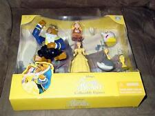 WALT DISNEY - Beauty And The Beast - Disney Theme Park Collectible Figures (NEW)