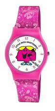 Mr Men Little Miss Chatterbox Watch with White Dial LM0003