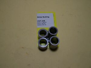 TAILGATE STRIKER BUSHING KIT - URETHANE THERMOPLASTIC BUSHINGS - 2 SETS